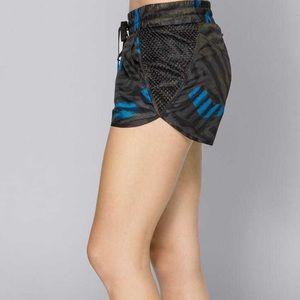 Alala Bolt Stripe Shorts Woven Women's activewear